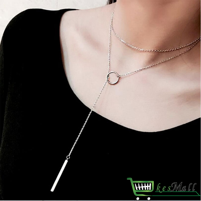 Women's 925 Sterling Silver Laconic Necklace