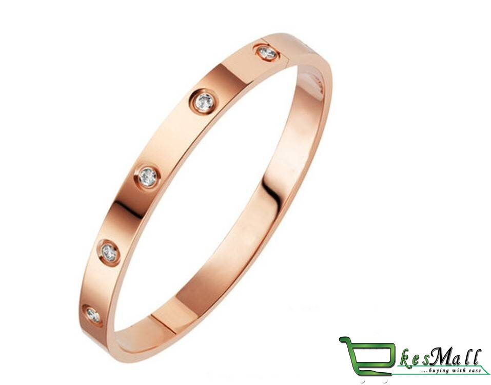 Women's Laconic Design Crystal Cuff Bracelet