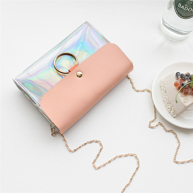 Women's Holographic Mini Crossbody Bag